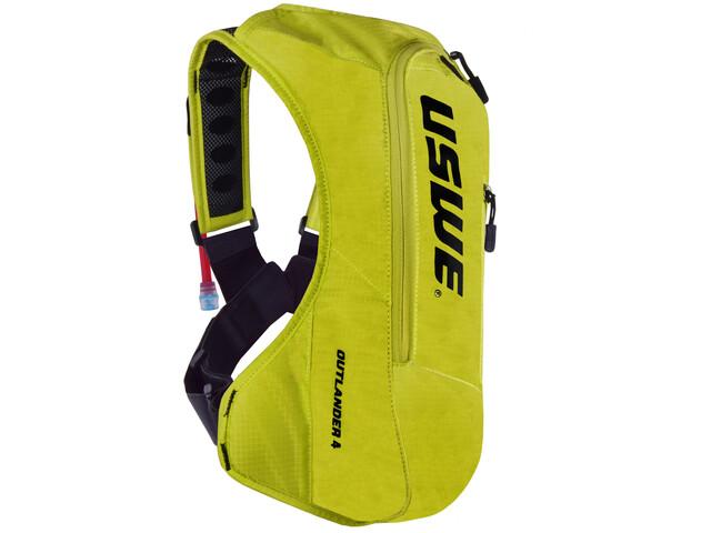 9dba8ba5a65 USWE Outlander 4 Backpack crazy yellow - till fenomenalt pris på ...